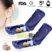 2Small In The Ear Invisible Best Sound Amplifier Adjustable Digital Hearing Aids