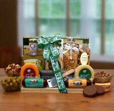 Thanks A Million Gourmet Gift Board/Cheese/Sausage/Crackers/Cutting Board