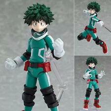 Anime Figma 323# My Hero Academia Midoriya Izuku Figure Figurine New Toy NIB