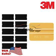 3M Gold Squeegee Applicator Tool Replaceable Felt Edge Tips x10 Vinyl Wrap Kit