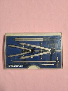 Staedtler Drafting Set Compass Drawing Sketch with Case Tool Kit