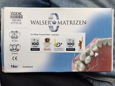 50% OFF Walser Dental Matrix Bands Sistem Set Of 18 Composite/Amalgam $589