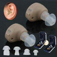 US CIC Hearing Aids MiNi Digital Invisible Sound Voice Amplifier Enhancer Device