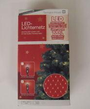 210 LED RETE DI LUCI ILLUMINAZIONE NATALE BIANCO CALDO 216cm x 120cm Interno &