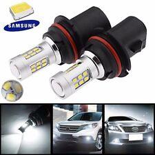 2X HID White High Power 9007 HB5 21W 2835 Headlight Headlamp Samsung LED Bulbs
