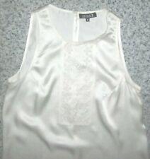Vestido Corto Claudie Pierlot 100% Seda Marfil-Tamaño 0