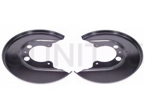 Seat Leon Cupra R (01-06) Rear Brake Disc Dust Backing Plates | 256 x 22mm