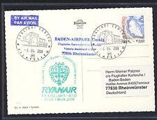 59092) Irland Ryanair FF Cagliari - Karlsruhe 6.4.2009, Kte