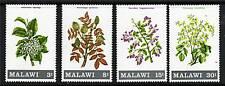 Malawi 1971 Flowering Shrubs & Trees SG 397/400 MNH