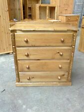 PINE FURNITURE ASHBOURNE SPECIAL LIMITED OFFER 4 DRAWER CHEST NO FLAT PACK
