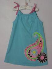 Hanna Andersson Blue Pillowcase Dress Paisley 110 4/5