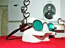 Antique (1810) Spectacles/Sunglasses W/Case By Charles Parker Pack #6 Ao Rb