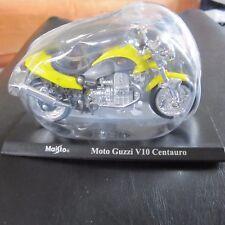 Moto Guzzi V10 Centauro Maisto Motorbike Motorcycle Model 1:18 Scale w Stand