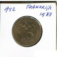 10 FRANCS 1983 FRANCE French Coin #AN442UW