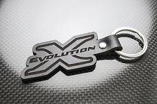 MITSUBISHI EVO 10 Pelle Portachiavi Schlüsselring porte-clés Evolution x LANCER FQ