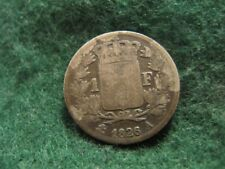 FRANCE CHARLES X 1 FRANC 1826A LOW GRADE KM#724.1 SCARCE SILVER COIN