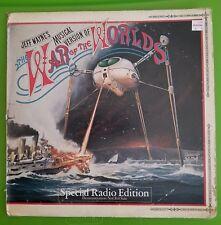 Jeff Wayne Musical Version of War of the Worlds  Special Radio Edition Vinyl LP