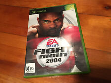 Original Microsoft Xbox: EA Sports: Fight Night 2004: COMPLETE WITH MANUAL!