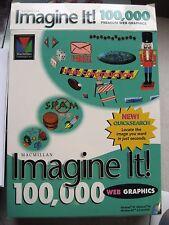 "Used ""Imagine It"" web graphics by Macmillan 100,000 Premium Web Graphics 3 CDs"