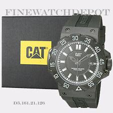 Authentic Caterpillar Men's Cat Ocean Black Analog Quartz Watch D3.161.21.126