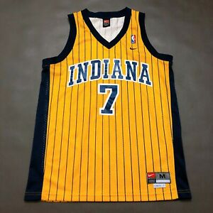100% Authentic Jermaine O'Neal Vintage Nike Pacers Swingman Jersey M 40 Mens