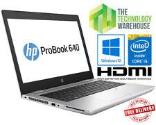 "HP Probook 640 G4 Laptop - 1080p 14"" laptop with M.2 SSD & 1TB HDD Window 10 Pro"