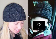 New Twilight Bella Adult Medium Mittens & Matching LaPush Hat in Stewart Yarn!