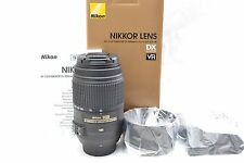 New Nikon Nikkor AF-S 55-300mm F/4.5-5.6 VR DX G ED Lens - 3 Year Warranty