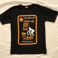69bea74c4f Novelty Clean Up After Your Dog Abercrombie   Fitch Small Black T-Shirt S