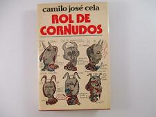 ROL DE CORNUDOS - CAMILO JOSE CELA 1976