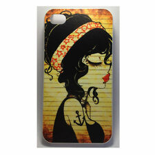 Girl With Anchor Tattoo iPhone 4 / 4s Case for Apple