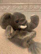 Elephant & penguin Hand Puppets- born free foundation