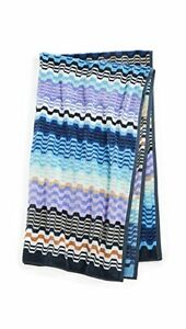 New in Package MISSONI HOME 2 Piece Set LARA BATH TOWELS Bath Sheet HORCHOW