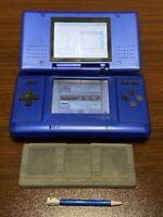 Nintendo DS Original BLUE W/ Stylus & case