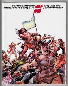 Cartoonist and Illustrator Portfolio #3 NM- 1978 Original Art Catalog Wrightson