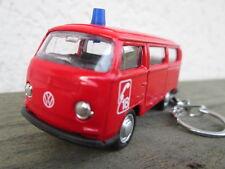 Porte clé Volkswagen Bus Combi T2 Pompier, neuf, en métal