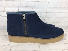 Timberland mirrorfit women's blue suede ankle boots UK 7 - NEW WITHOUT TAGS