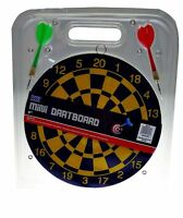 """9"""" Classic Mini Small Dartboard Dart Set Double Sided Adult Pub Party Game Toy"""