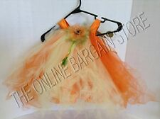 Pottery Barn Kids PBK Baby Sunflower Tutu Halloween Play Costume 6-12 Months
