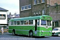 Southdown 638 MUF638 Leyland 6x4 Bus Photo Ref P095