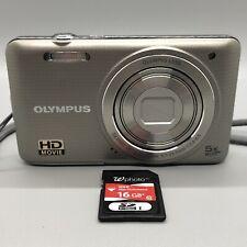 Olympus VG-140 14 MP 5X Digital Camera, 16 GB SDHC Card, No Cable, FREE SHIPPING