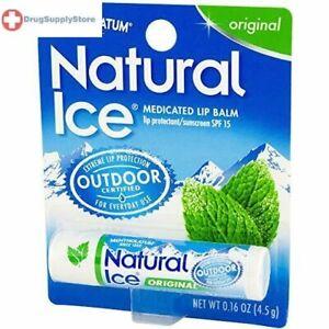 Natural Ice Original Lip Balm Display 12 Pieces/Pack