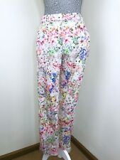FOREVER NEW Multicoloured Floral Capri Pants Size 6