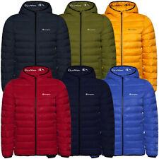 Champion Hooded Jacket Herren Outdoor Freizeit Jacke Kapuze Winterjacken 214869