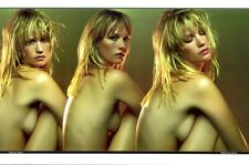 JANUARY JONES - THREE POSES WITH NO CLOTHES, A LOT OF SKIN !!!