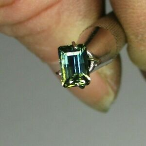 Sapphire Australian cut Yellow/Blue .75 ct