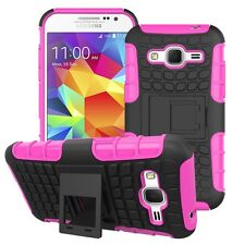 Proof Hard Case Heavy Duty Survivor Tough Shock Cover for Mobile PHONES Tablets Samsung Galaxy J5 Pink