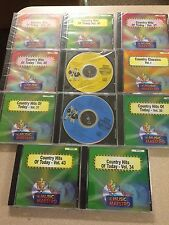MUSIC MAESTRO COUNTRY SET LOT 11 DISCS STARTER SET SEALED 165 SONGS
