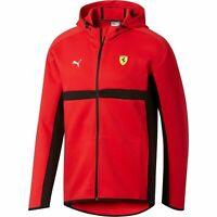 $110 NWT NEW Men's PUMA SF Ferrari Full Zip Hoodie Jacket 576707 01 Drift Future