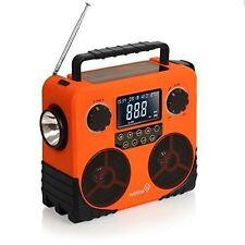 Weather Solar & Dynamo AM/FM/NOAA Radio, Bluetooth Stereo Speaker, Phone Charger